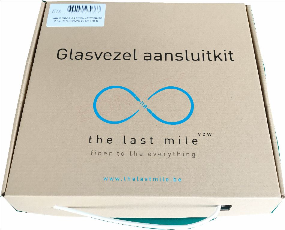 "The Last Mile FttH aansluitkit ""self-install"""